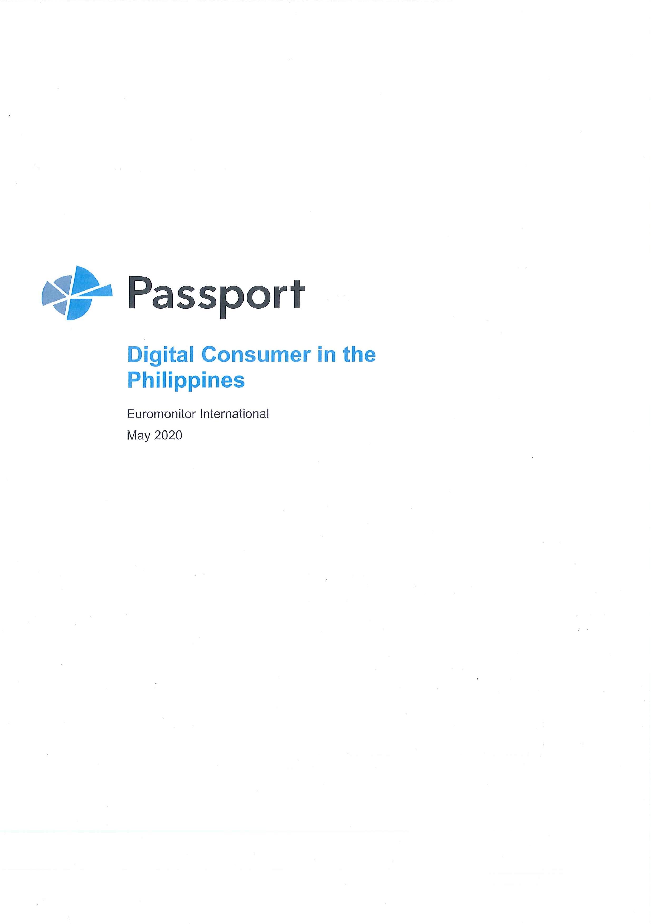 Digital consumer in the Philippines [e-book]