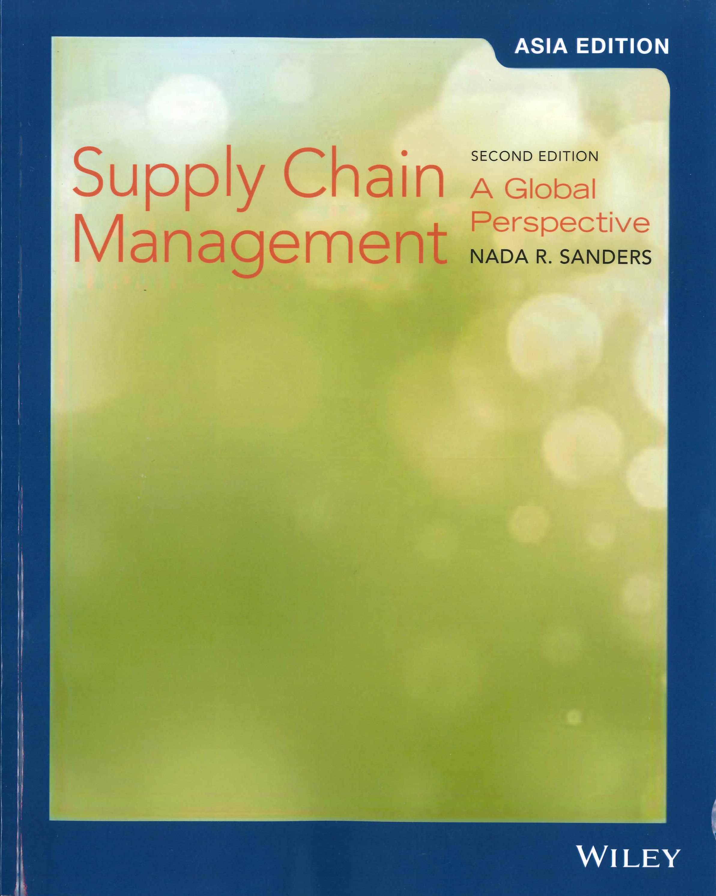 Supply chain management:a global perspective