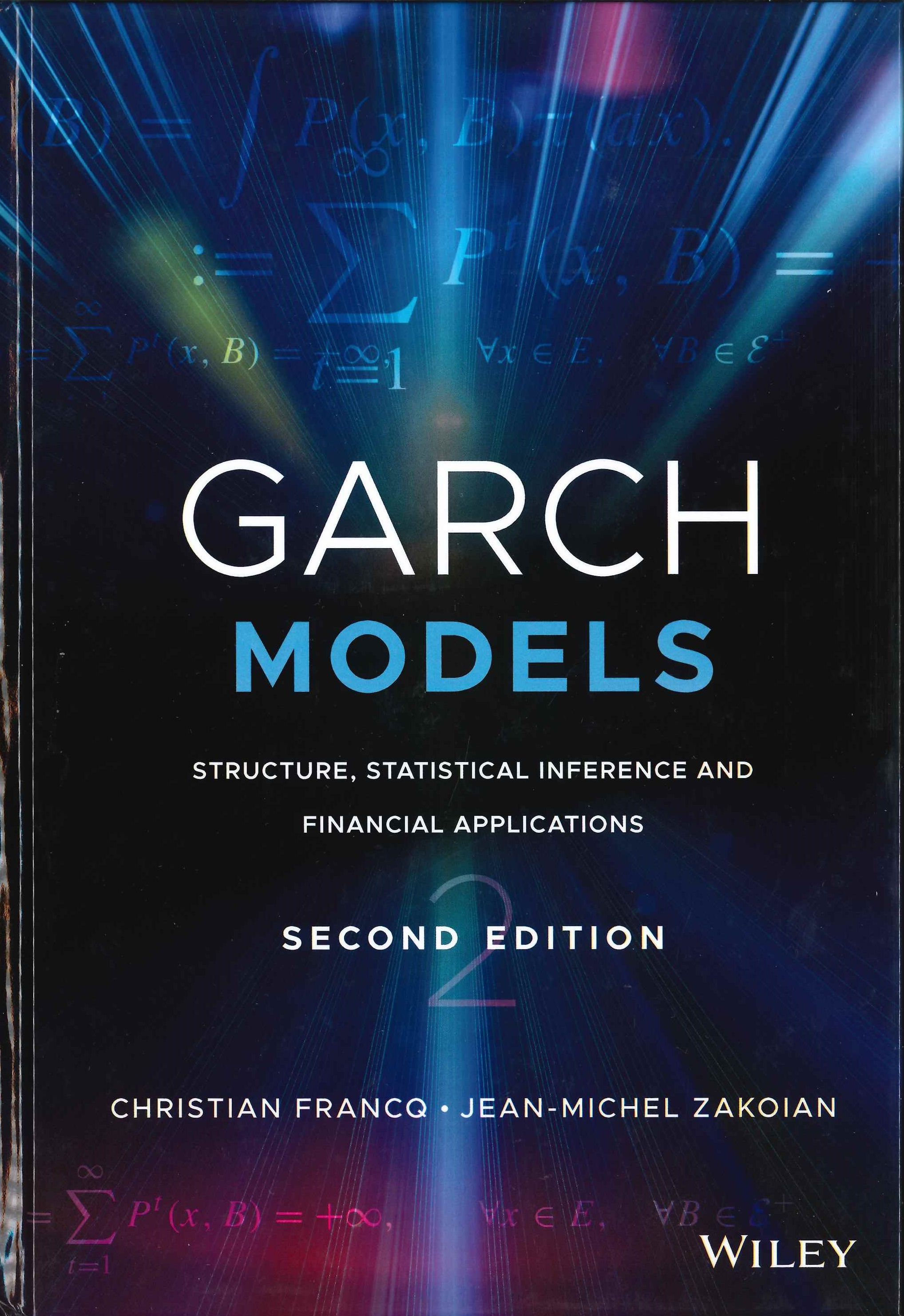 GARCH models:structure, statistical inference and financial applications