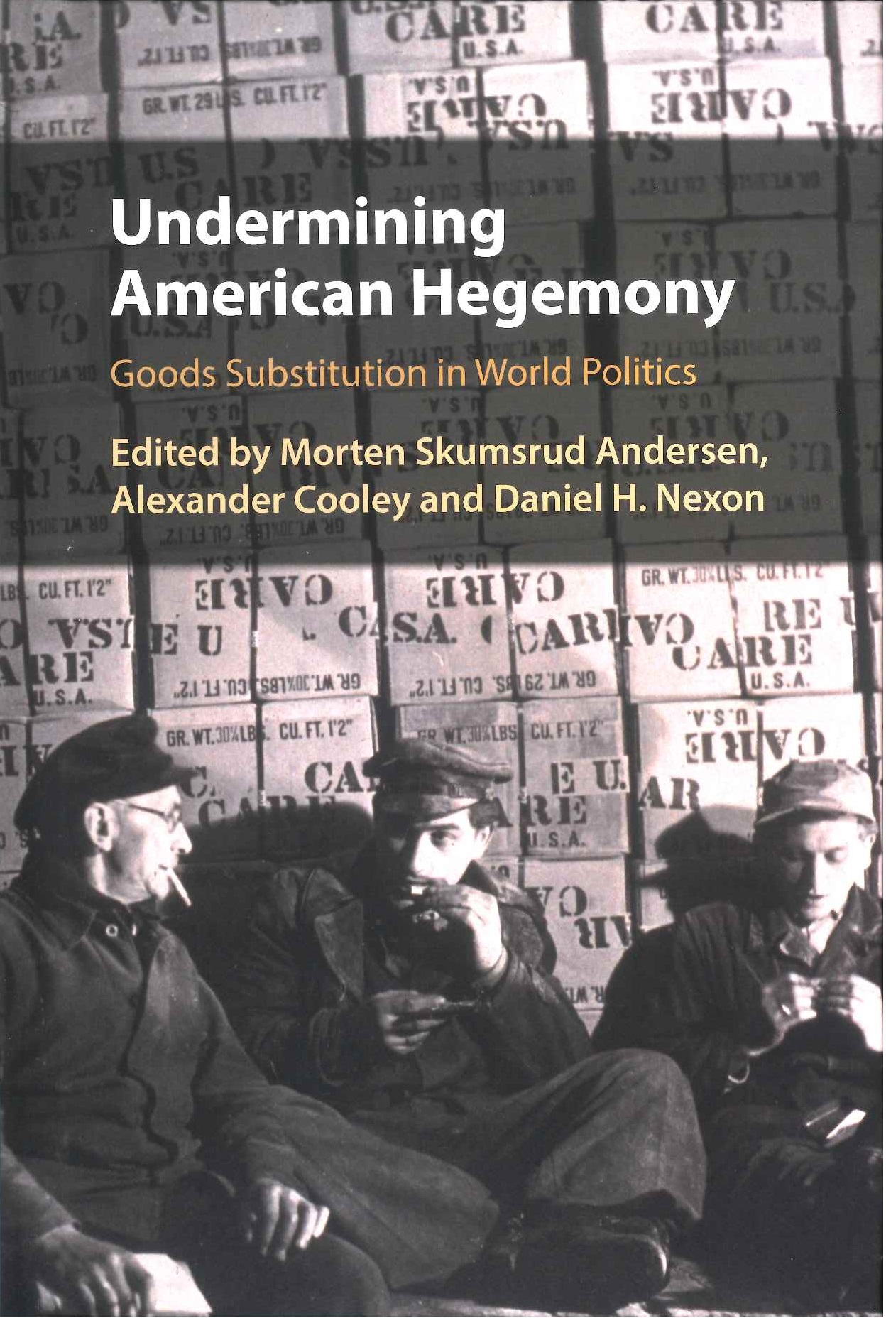 Undermining American hegemony:goods substitution in world politics