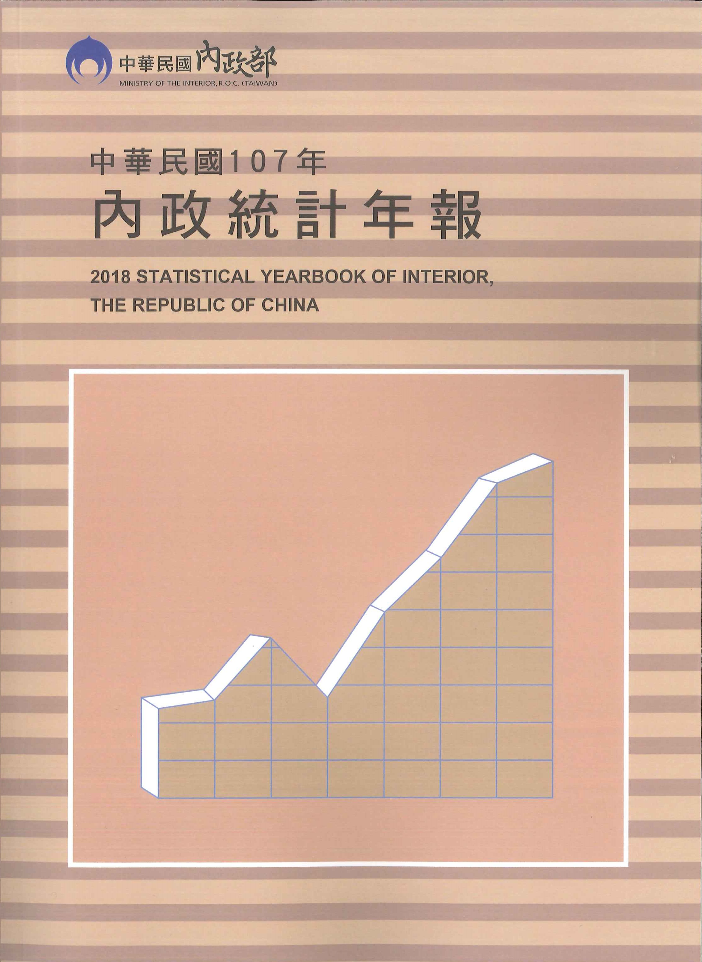 內政統計年報=Statistical yearbook of interior