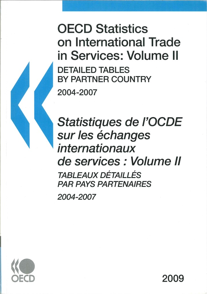 OECD statistics on international trade in services=Statistiques de l